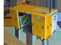 Vidmar CWB 25-50-DP random bags weighing system