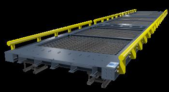 Básculas para camiones y FFCC