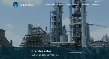 New website vidmargroup.com