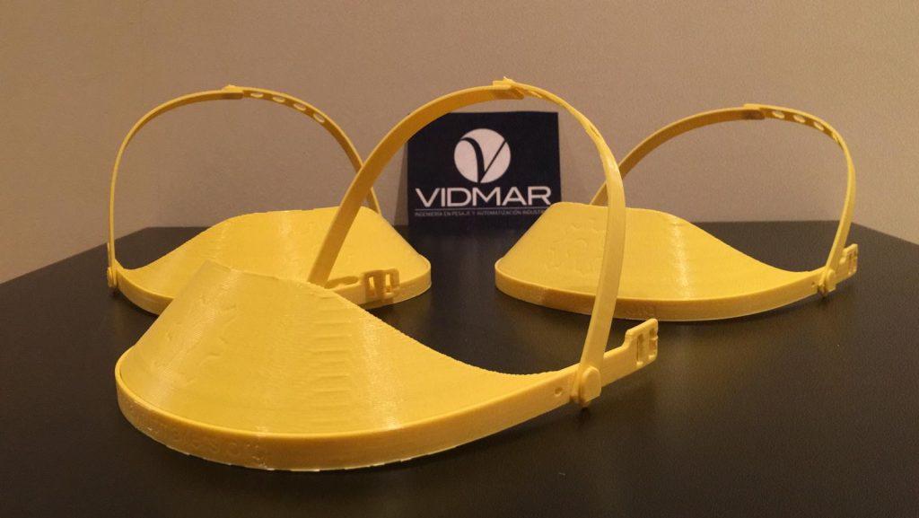Vidmar participa en la iniciativa para la construcción de material sanitario