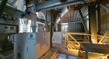 Instalación de sulfato ferroso en Lafarge Villaluenga